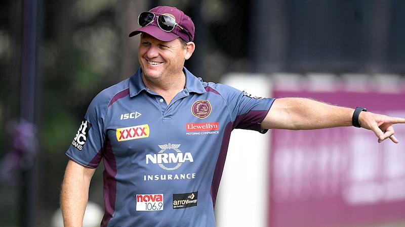 Pictured here, former assistant coach Kevin Walters at Broncos training.