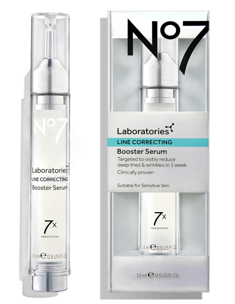 """<h2>No7 Line Correcting Booster Serum</h2><br>R29 writer Jacqueline Kilkita is no stranger to testing out beauty products that often turn into most wanted buys. This month, she tackled a bestselling drugstore brand <a href=""""https://www.refinery29.com/en-us/2021/03/10385656/no7-line-correcting-booster-serum-review-pictures"""" rel=""""nofollow noopener"""" target=""""_blank"""" data-ylk=""""slk:No7's Line Correcting Booster Serum"""" class=""""link rapid-noclick-resp"""">No7's Line Correcting Booster Serum</a> that uses Matrixyl 3000+ to keep skin plump and intact while repairing existing damage. After using the product on her under eyes, Kilkita reported: """"I've been using the serum for just over a week now and, as you can tell, it really does work to iron away lines. In the before image, my under-eye creases extended outwards; looking at the after shot, it's as though someone has taken an eraser to my skin. In all the years of trying eye serums, balms, and creams, nothing has worked quite as well as this.""""<br><br><em>Shop <strong><a href=""""https://www.kohls.com/product/prd-4259701/no7-laboratories-line-correcting-booster-serum.jsp"""" rel=""""nofollow noopener"""" target=""""_blank"""" data-ylk=""""slk:Kohl's"""" class=""""link rapid-noclick-resp"""">Kohl's</a></strong></em><br><br><strong>No7</strong> Laboratories Line Correcting Booster Serum, $, available at <a href=""""https://go.skimresources.com/?id=30283X879131&url=https%3A%2F%2Fwww.kohls.com%2Fproduct%2Fprd-4259701%2Fno7-laboratories-line-correcting-booster-serum.jsp"""" rel=""""nofollow noopener"""" target=""""_blank"""" data-ylk=""""slk:Kohl's"""" class=""""link rapid-noclick-resp"""">Kohl's</a>"""