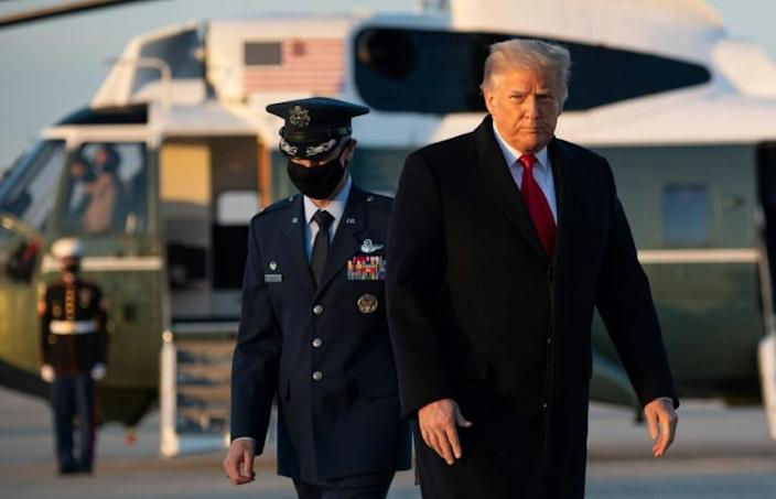 US President Donald Trump faces becoming the first in history to be impeached twice
