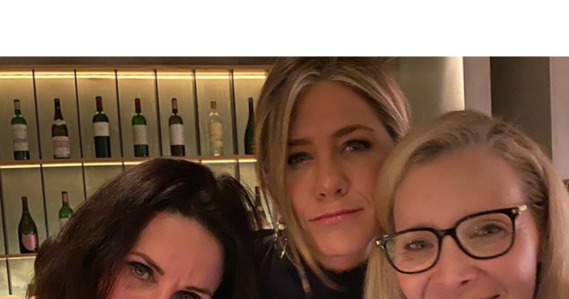 The ladies of 'Friends' reunited over the weekend