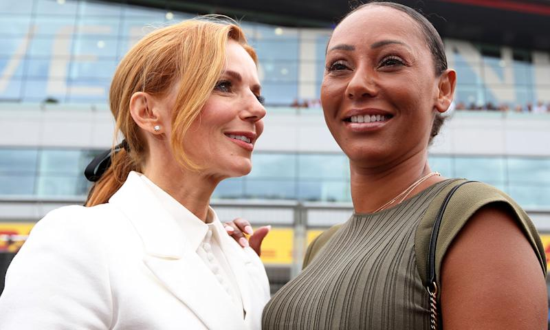 Mel B said she and Geri Horner had been sexually intimate. (Charles Coates/Getty Images)