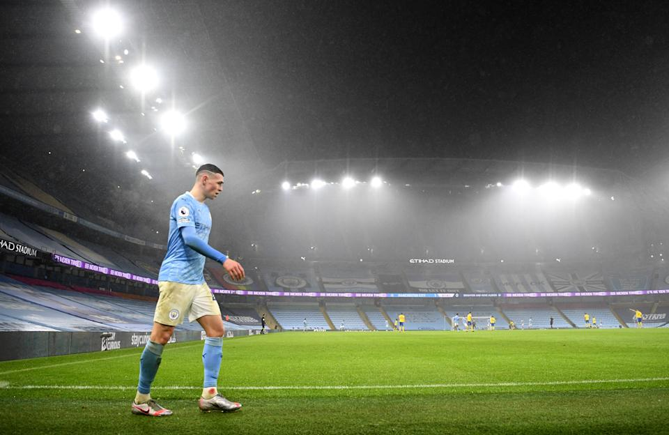 Phil Foden was in scintillating form  (Getty Images)