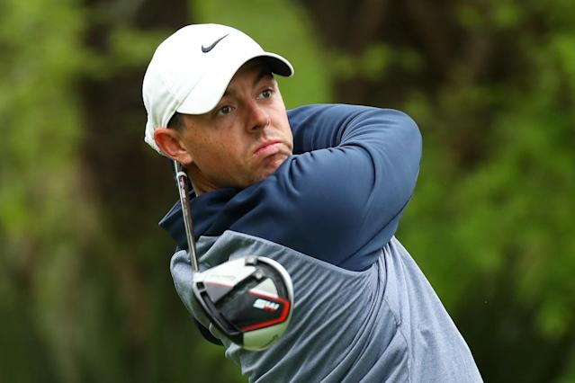 """<h1 class=""""title"""">The PLAYERS Championship - Final Round</h1> <div class=""""caption""""> PONTE VEDRA BEACH, FLORIDA - MARCH 17: Rory McIlroy of Northern Ireland plays his shot from the fifth tee during the final round of The PLAYERS Championship on The Stadium Course at TPC Sawgrass on March 17, 2019 in Ponte Vedra Beach, Florida. (Photo by Gregory Shamus/Getty Images) </div> <cite class=""""credit"""">Gregory Shamus</cite>"""