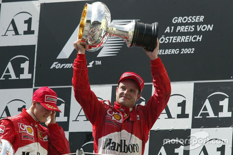 "Rubens Barrichello<span class=""copyright"">LAT Images</span>"