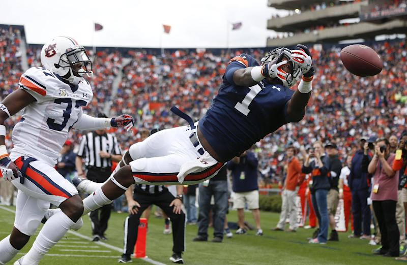 Marshall leads Auburn 1st team to rout of 2nd team
