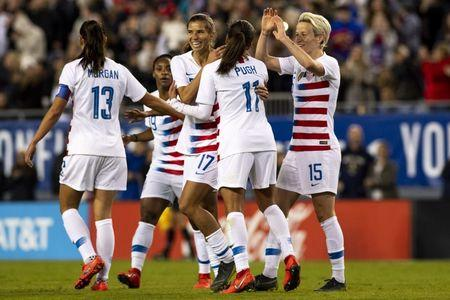 Soccer: She Believes Cup Women's Soccer-Brazil at USA