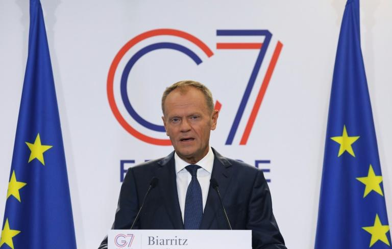 European Council President Donald Tusk has said: 'The reasons why Russia was disinvited in 2014 are still valid.'