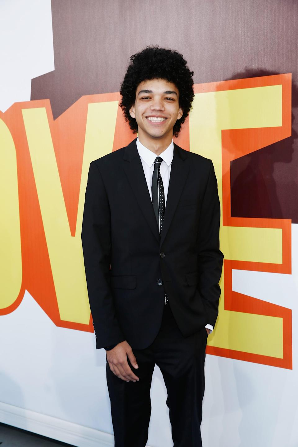 """<p>It's not uncommon for budding Hollywood stars to have to dress themselves sans stylist in the early years of their careers. That was the case for Justice at his first red carpet experience, the 2015 MTV Movie Awards. Without a stylist, Justice had to search through his closet for a red-carpet-worthy outfit. """"<a href=""""http://youtu.be/JwlEKoJnoXA"""" class=""""link rapid-noclick-resp"""" rel=""""nofollow noopener"""" target=""""_blank"""" data-ylk=""""slk:I wore a suit that I found in the back of my closet"""">I wore a suit that I found in the back of my closet</a> and some dirty tennis shoes,"""" he told BuzzFeed. """"It's on the internet; it is disgraceful."""" </p>"""