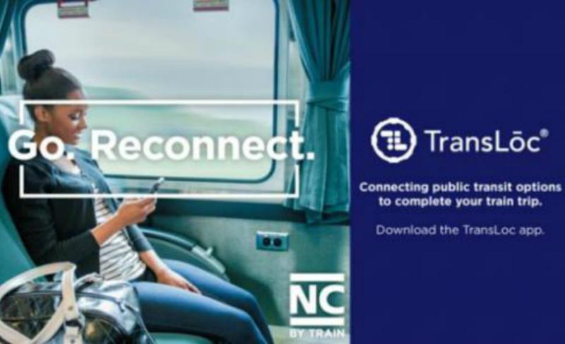 NC DOT app will get you to the train on time, works with Uber and Amtrak