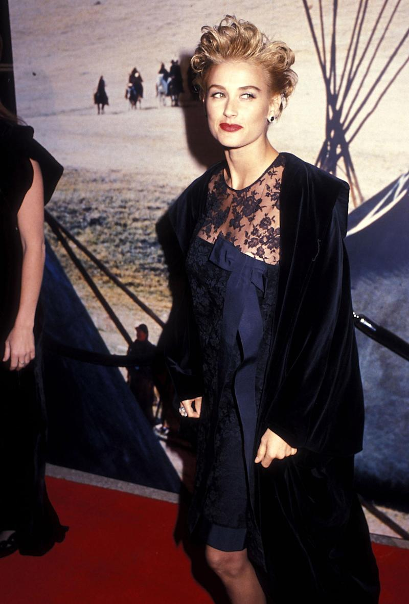 Demi Moore in 1990 (Getty Images)