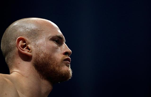 Boxing - World Boxing Super Series Semi Final - George Groves vs Chris Eubank Jr - WBA & IBO World Super-Middleweight Titles - Manchester Arena, Manchester, Britain - February 17, 2018 George Groves during the fight Action Images via Reuters/Andrew Couldridge