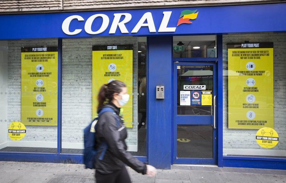 The Coral owner said its store revenues have been closing on pre-pandemic levels (Matt Alexander/PA) (PA Wire)
