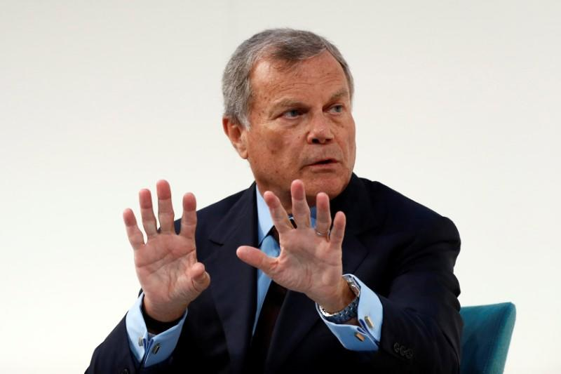 Martin Sorrell, chairman and chief executive officer of WPP, the world's largest advertising company, speaks at the Confederation of British Industry's (CBI) annual conference in London