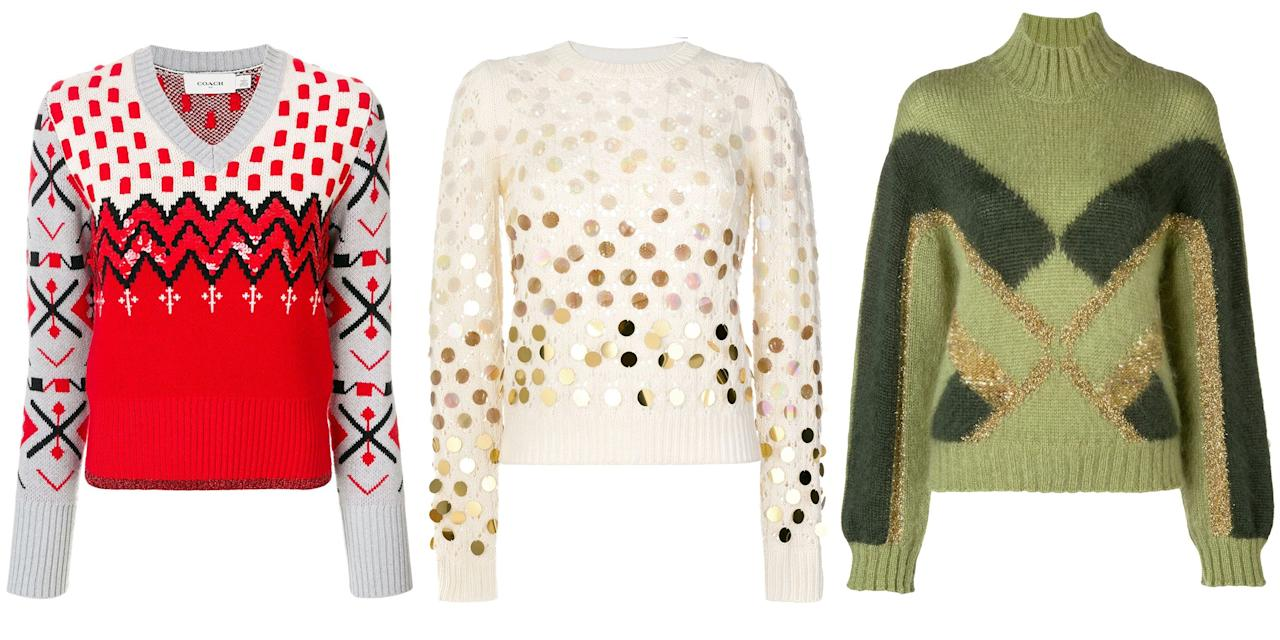 21 pretty christmas sweaters you ll actually want to wear