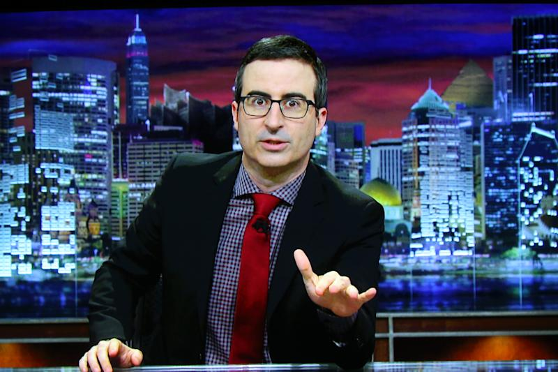John Oliver 'retires' after big surprise from Russell Crowe