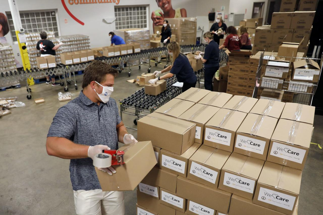 .6 million emergency program provides 5-day food packages during pandemic