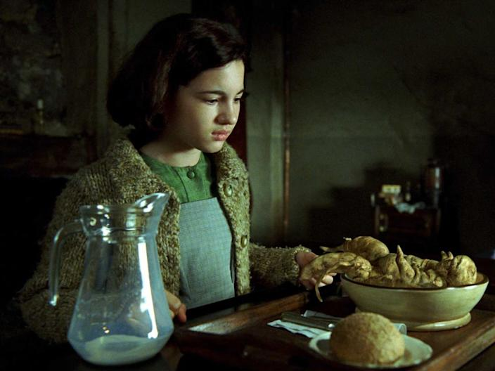 """""""Pan's Labyrinth"""" is filled with haunting creatures and mythical twists."""