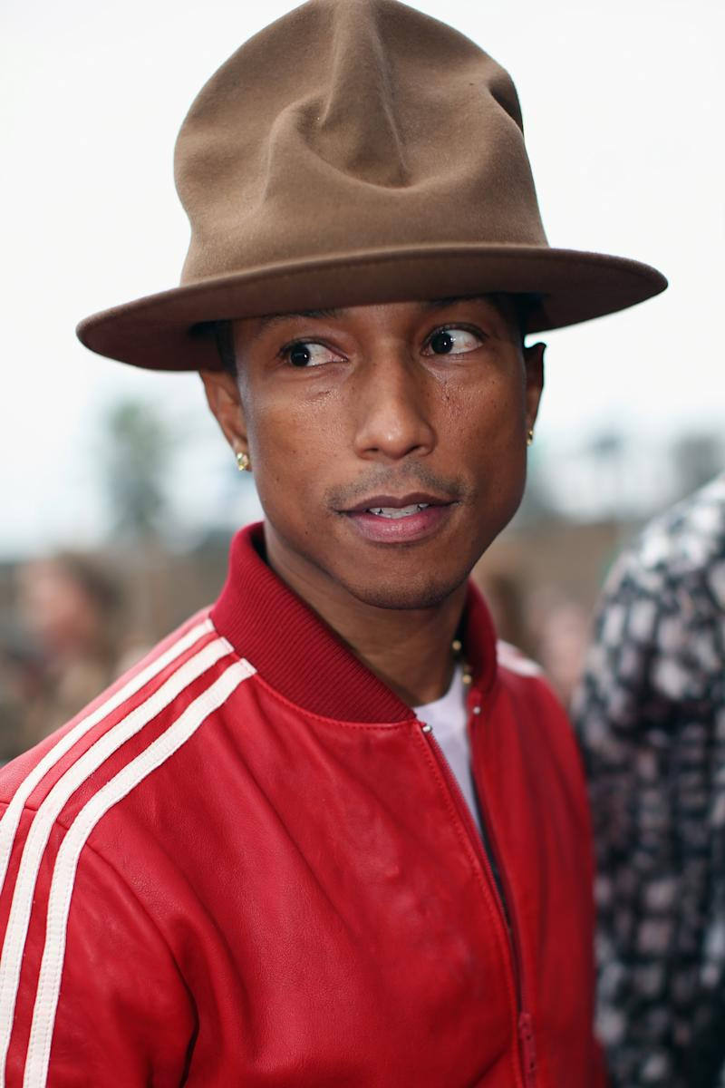 Pharrell Williams  Who Is That Guy With the Hat  67c9ec9630c