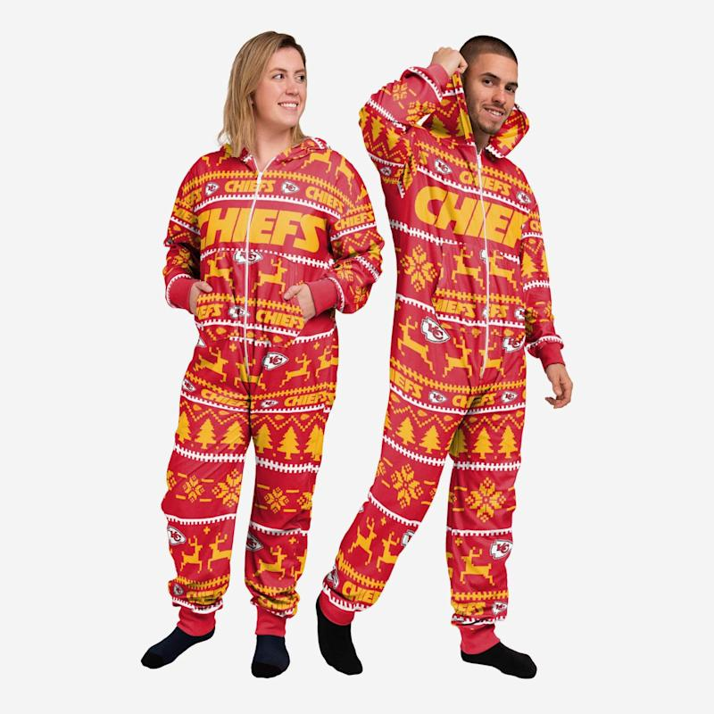 Chiefs One-Piece Pajamas