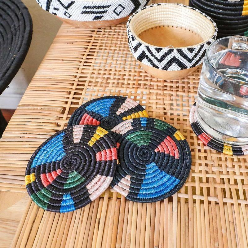 """<p>How fun are these <a href=""""https://www.popsugar.com/buy/Jungalow-Mosaic-Coasters-584966?p_name=Jungalow%20Mosaic%20Coasters&retailer=jungalow.com&pid=584966&price=40&evar1=casa%3Aus&evar9=45784601&evar98=https%3A%2F%2Fwww.popsugar.com%2Fhome%2Fphoto-gallery%2F45784601%2Fimage%2F47575730%2FJungalow-Mosaic-Coasters&list1=shopping%2Cproducts%20under%20%2450%2Cdecor%20inspiration%2Caffordable%20shopping%2Chome%20shopping&prop13=api&pdata=1"""" class=""""link rapid-noclick-resp"""" rel=""""nofollow noopener"""" target=""""_blank"""" data-ylk=""""slk:Jungalow Mosaic Coasters"""">Jungalow Mosaic Coasters</a> ($40)?</p>"""