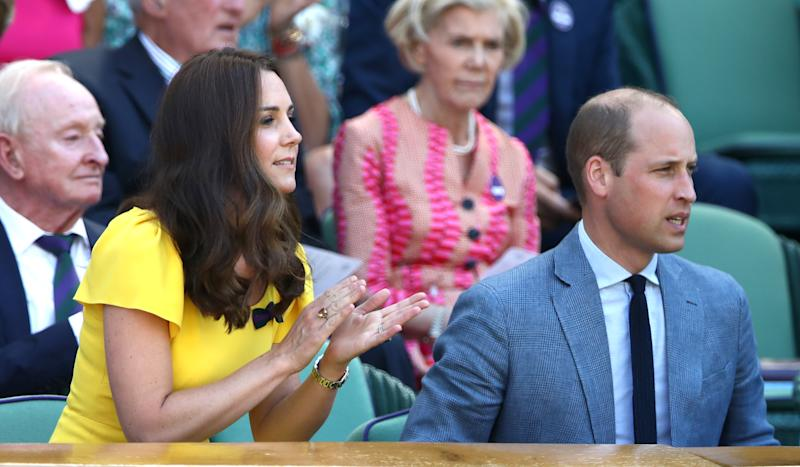Duchess Kate Middleton, ever the tennis lover, made her 2018 Wimbledon debut