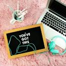 <p>They can come in such forms as a sticky note on your memo board, a note taped to your mirror, or an inspiring quote on a coffee mug.</p>