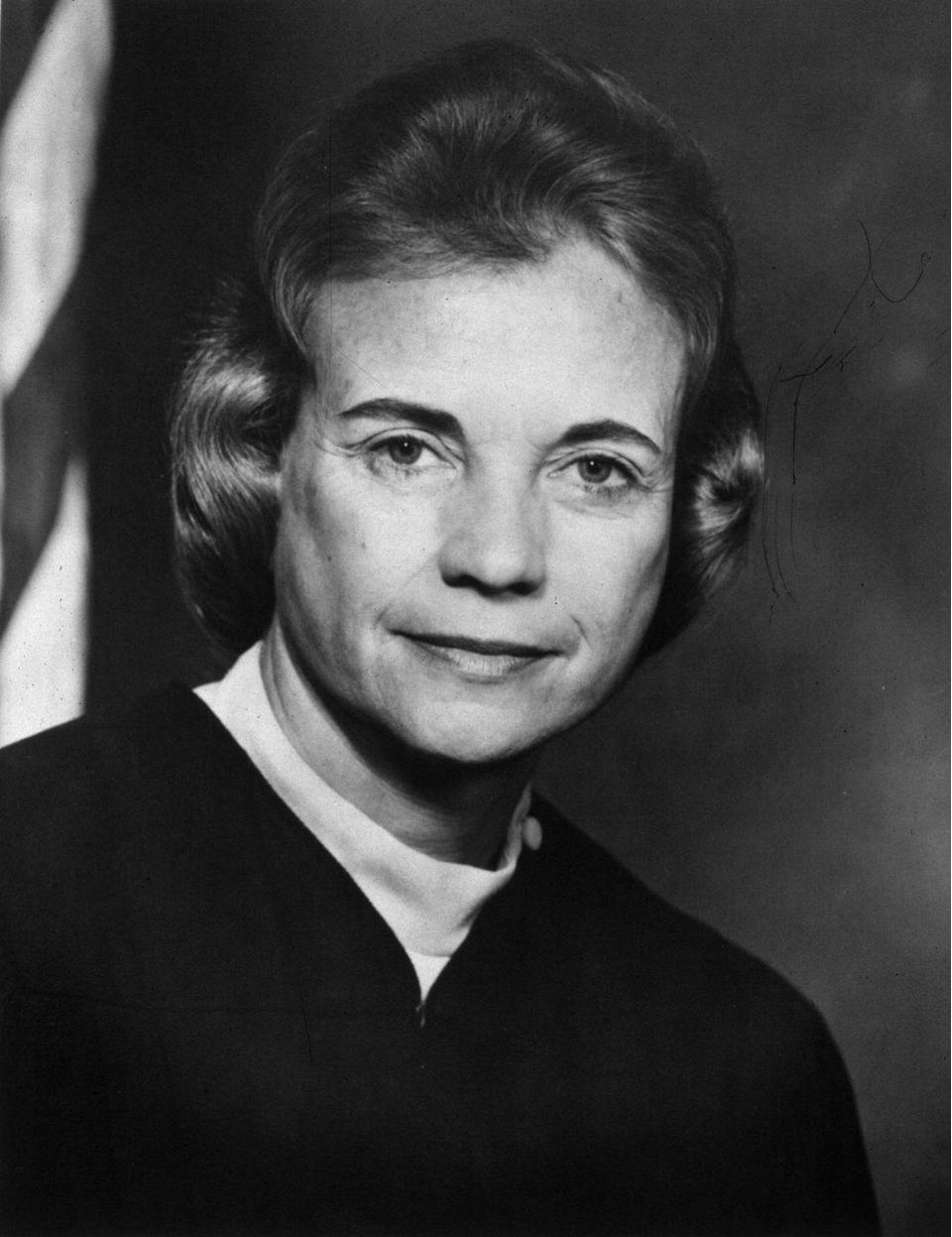 <p>On September 21, 1981 Sandra Day O'Connor was appointed by the U.S. Senate as the first female supreme court justice. This event was memorable on many levels, considering it had never happened before and laid the groundwork for future justices, like Ruth Bader Ginsburg and Sonia Sotomayor. </p>
