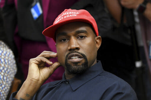 Rapper Kanye West criticizes Harriet Tubman at rally