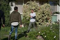 <p>He tries to back up his two uncles.</p>