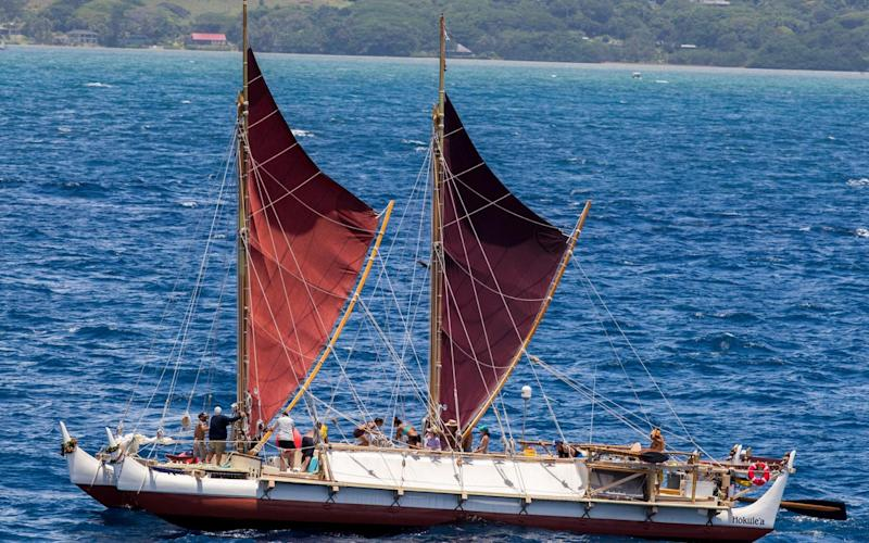 Hokulea returns to Hawaii on June 16 - www.alamy.com