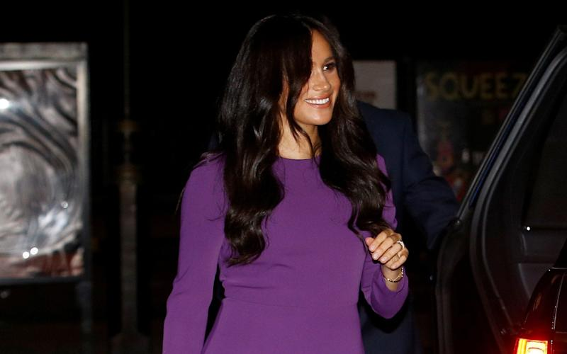 The Duchess attended the One Young World Summit Opening Ceremony at the Royal Albert Hall - REUTERS