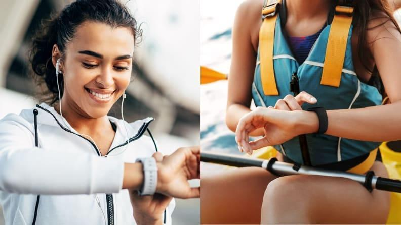 Track your progress with a fitness tracker.