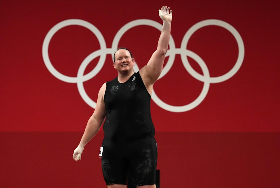 Laurel Hubbard departed the Olympics without a lift (Martin Rickett/PA) (PA Wire)