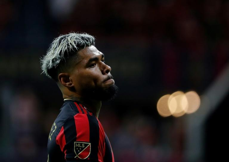 Atlanta United's Josef Martinez is out with a torn knee ligament suffered last month