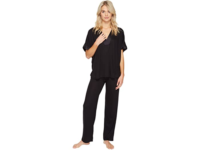 """<br><br><strong>N by Natori</strong> Congo PJ Set, $, available at <a href=""""https://go.skimresources.com/?id=30283X879131&url=https%3A%2F%2Fwww.zappos.com%2Fp%2Fn-by-natori-congo-pj-set-black%2Fproduct%2F8901303%2Fcolor%2F3"""" rel=""""nofollow noopener"""" target=""""_blank"""" data-ylk=""""slk:Zappos"""" class=""""link rapid-noclick-resp"""">Zappos</a>"""