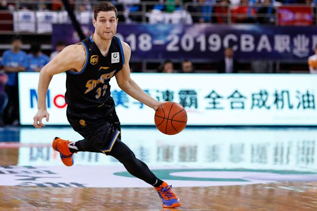 Jimmer Fredette is headed back to the NBA. (Photo by Fred Lee/Getty Images)