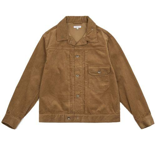 """<p><a class=""""body-btn-link"""" href=""""https://goodhoodstore.com/store/engineered-garments-corduroy-trucker-jacket-khaki-50089"""" target=""""_blank"""">SHOP</a></p><p>Tokyo's Engineered Garments has made a soft, professor-ly tobacco cord jacket with a handy utility pocket and a nice revere collar, for when you're going full button up.</p><p>Corduroy Khaki Trucker Jacket, £350,<a href=""""https://goodhoodstore.com/store/engineered-garments-corduroy-trucker-jacket-khaki-50089"""" target=""""_blank""""> goodhoodstore.com</a></p>"""