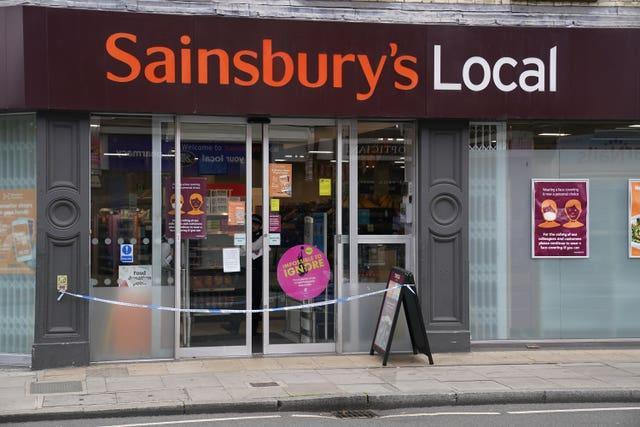 Supermarket food contaminated with syringes