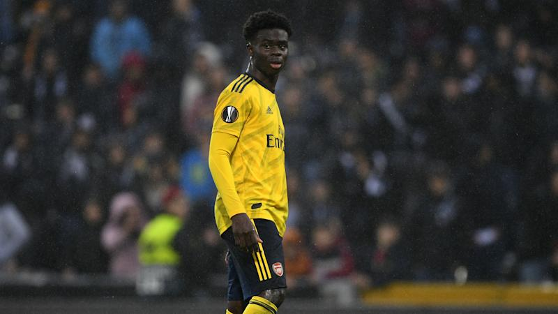 Arteta and Leno single out 'outstanding' Saka after decisive contribution against Olympiacos