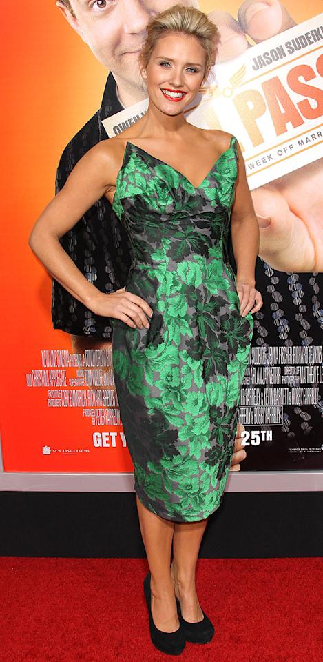 """<a href=""""http://movies.yahoo.com/movie/contributor/1809804248"""">Nicky Whelan</a> attends the Los Angeles premiere of <a href=""""http://movies.yahoo.com/movie/1810133702/info"""">Hall Pass</a> on February 23, 2011."""