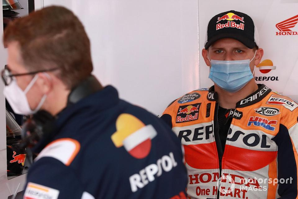 "Stefan Bradl, Repsol Honda Team <span class=""copyright"">Gold and Goose / Motorsport Images</span>"
