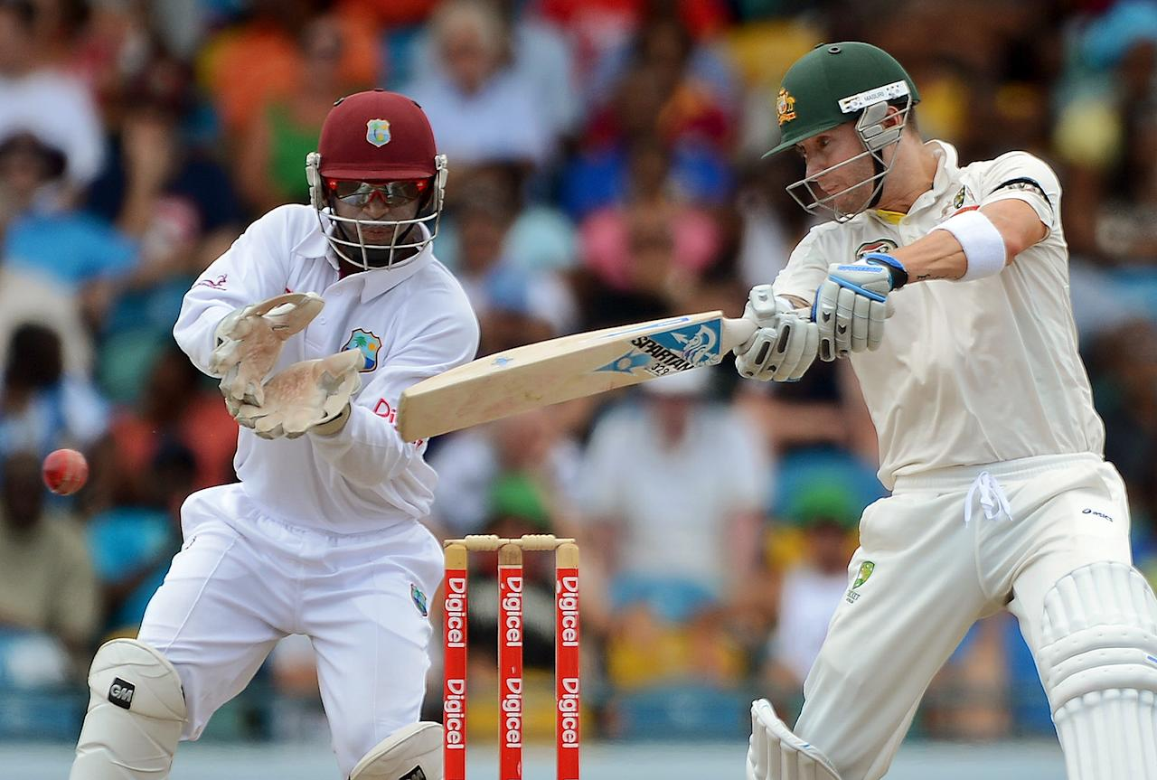 Michael Clarke: Australia's captain may have scored only 188 runs (but these included handy runs in Barbados) at an average of 31.33 in the three-Test series, but he did take a five-wicket haul in the third Test at Dominica to spin his team to a 75-run win. Clarke's captaincy was also top-notch through the seires; and he impressed with his brave and sporting declarations in the first and second Tests.