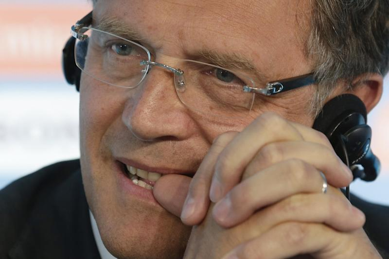 Valcke smiling, but WCup still a concern for FIFA