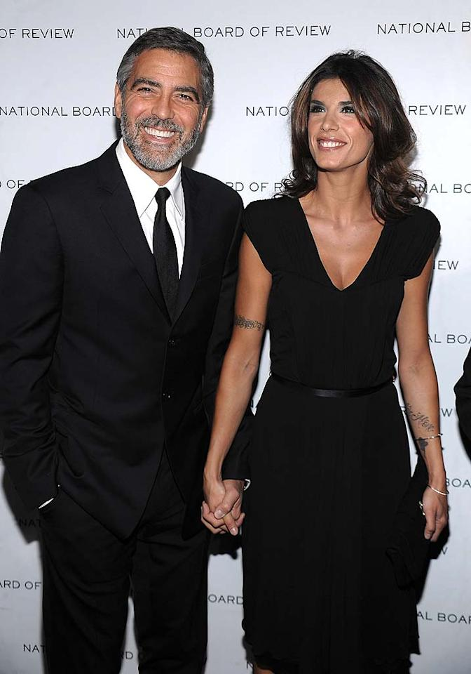 "The <i>National Enquirer</i> reports that after the recent success of Elisabetta Canalis' sexy spread for Roberto Cavalli, execs at the fashion company asked if she and her famous boyfriend, George Clooney, would do a his-and-her underwear ad. According to the magazine, Canalis ""shivered with excitement"" over the idea, and immediately begged Clooney to pose alongside her. For more on what Clooney agreed to do, and when he'll be posing in his tighty-whities, log on to <a href=""http://www.gossipcop.com/george-clooney-underwear-roberto-cavalli-ad-elisabetta-canalis-briefs/"" target=""new"">Gossip Cop</a>. Dimitrios Kambouris/<a href=""http://www.wireimage.com"" target=""new"">WireImage.com</a> - January 12, 2010"
