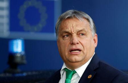 Hungarian PM vows to block any European Union sanctions against Poland