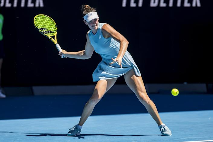 """<p>Brady keeps much of her family life private, but we know she has a twin sister named Jessica, who, as of last year, was enrolled in medical school. Brady told Tennis.com at the 2020 Top Seed Open, where she won her first WTA singles title of her career, that her sister follows her matches, """"<a href=""""http://www.tennis.com/pro-game/2020/08/champion-chat-jennifer-brady-lexington-bouzkova-serve-trolling-instagram/90140/"""" class=""""link rapid-noclick-resp"""" rel=""""nofollow noopener"""" target=""""_blank"""" data-ylk=""""slk:but is not one to get nervous"""">but is not one to get nervous</a>. She's happy for me whether I win or lose.""""</p>"""
