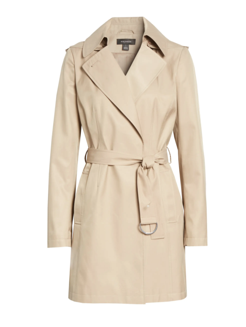 Classic Trench Coat. Image via Nordstrom.
