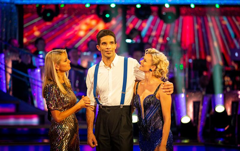 Former goalkeeper David James has become the fourth celebrity to leave Strictly Come Dancing 2019 (Credit: BBC)