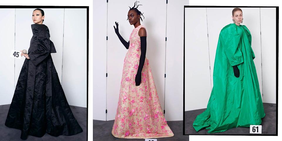 <p>Frothy, feathered, frilly and totally fantastical, we pick the most breathtaking gowns from the latest round of Haute Couture collections that historic fashion houses such as Dior, Balmain, and Schiaparelli have had to innovate in order to show under lockdown.</p><p>From Giambattista Valli and Dior to Schiaparelli and Chanel, these are the dreamiest dresses to grace our screens during the Haute Couture fashion week season.</p>