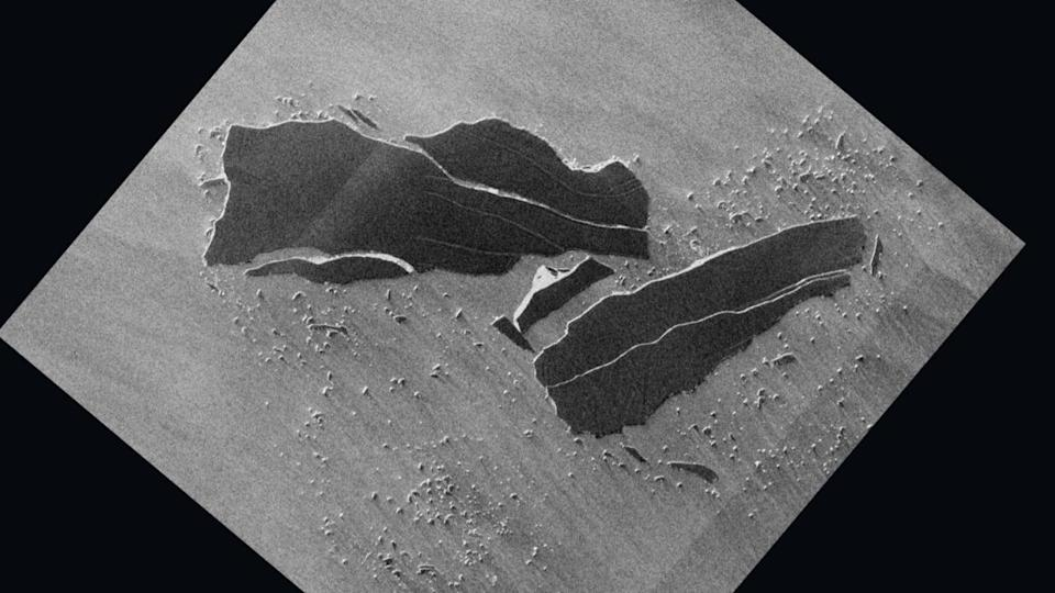 New satellite pics reveal iceberg A-68 shattered and scattered